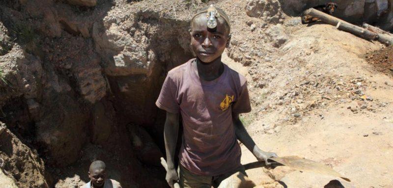 Kinderarbeit beim Kobalt-Abbau im Kongo. Ein Baustein der deutschen Energiewende.