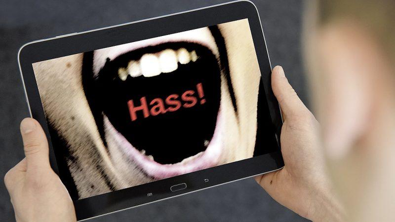 Es braucht weit mehr Härte gegen die Hetzer. (www.kirche-und-leben.de)